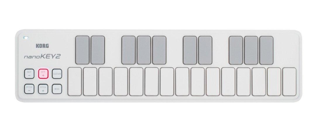 Korg NANOKEY2WH Slim Line Keyboard White