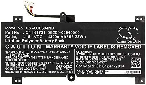 4300mAh Bargain NEW before selling ☆ Replacement Battery Compatible with as Strix II Scar ROG