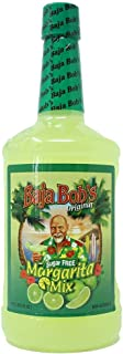 Baja Bob's Sugar Free ORIGINAL MARGARITA Mix, 1.75L - Cocktail Mixer - Keto Friendly - Low Calorie - Low Carb