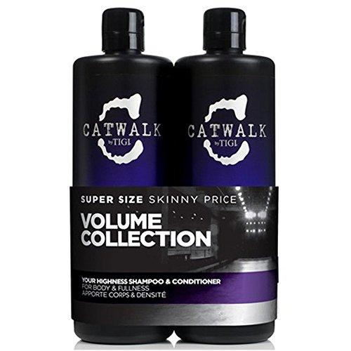 TIGI Catwalk Your Highness Shampoo and Conditioner Tween Duo 2 x 750ml