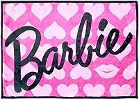丸眞 ひざ掛け Barbie バービー 70×100cm ホットマゼンタ 厚手素材 5425000100