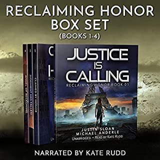 Reclaiming Honor Boxed Set (Books 1-4) cover art