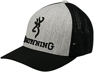 Flex Fit Mesh Back Hat Ball Cap - Heather
