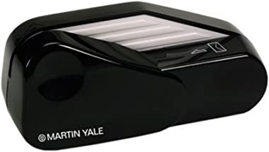Martin Yale 1624 Manual Letter Opener, Automatically Activates When Envelope is Inserted, Blades are Fully Enclosed - Black