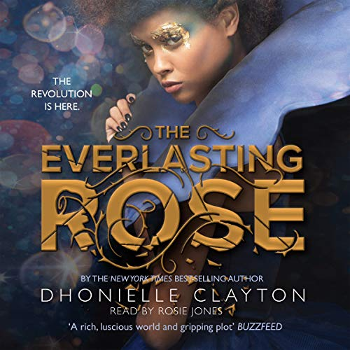 The Everlasting Rose audiobook cover art