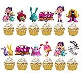 24PC ABBY ABBEY HATCHER PARTY CUPCAKE TOPPER CAKE TOPPERS DECORATION THEME BIRTHDAY A2