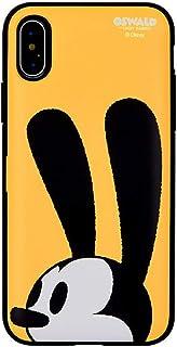 【iPhone7/8・アイフォン7/8】Disney Oswald the Lucky Rabbit ディズニー しあわせウサギのオズワルド 便利なカード収納付きバンパーケース...