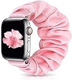 Zoholl - Cinturino elastico per orologio da polso per Apple Watch serie 6, 5, 4, 3, 2, 1, morbido e confortevole, compatibile con iWatch da 38 mm, 40 mm, 42 mm, 44 mm