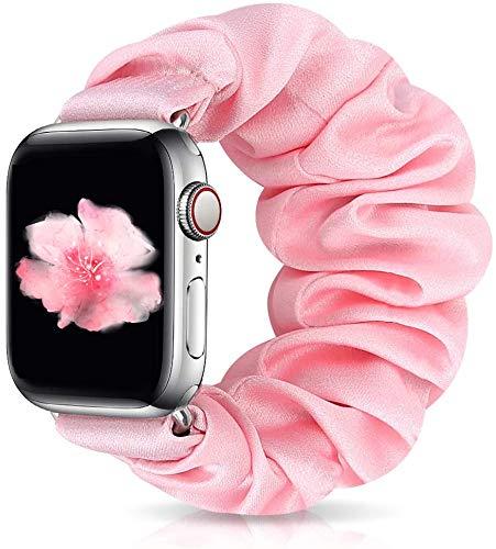 Zoholl Armband voor Apple Watch 6, 5, 4, 3, 2, 1, elastisch, voor Apple Watch 6, 5, 4, 3, 2, 1, zachte en comfortabele armband met elastische band, compatibel met iWatch 38 mm, 40 mm, 42 mm, 44 mm