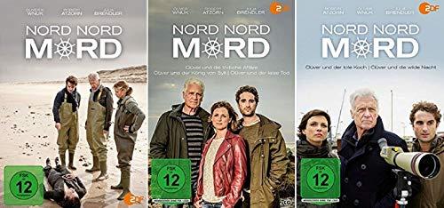 Nord Nord Mord 8 Filme Paket u.a. Clüver und die wilde Nacht [DVD Set]