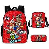 Super Mario School Bag Mochila para niños, adolescentes, niñas, Super Mario Bros, mochila escolar,...