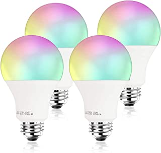 [2019 Upgrade] 100W Equivalent Smart LED Light Bulb A21 by 3Stone, WiFi App Controlled UL Listed, Dimmable Warm White and RGB Colors, Works Perfect with Amazon Alexa Google Assistant