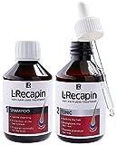 LR L de recapin Juego anti de caída del cabello (200ml Ton icum & Champú 200ml)