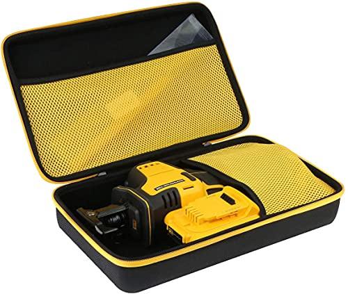 Khanka Hard Storage Case replacement for DEWALT DCS369B Cordless Reciprocating Saw