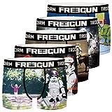 FREEGUN Lot de 5 Boxer Garcon Stormtrooper Slip, Multicolore (Multicolor G1), 8-9 Ans (Taille Fabricant:8/10)