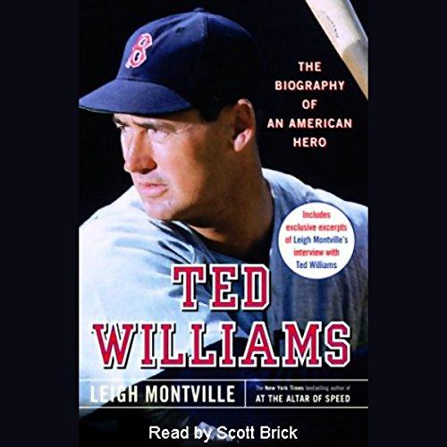 Ted Williams audiobook cover art