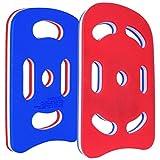 Sport-Thieme Schwimmbrett Multi | Schwimmhilfe, Kick-Board für Erwachsene u. Kinder | In Zwei Größen mit 5 o. 7 ergonomischen Grifflöchern | Aus weichem Plastazote Schaumstoff