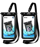 Mpow Floatable Waterproof Case, IPX8 Waterproof Cell Phone Bag Underwater Phone Pouch Dry