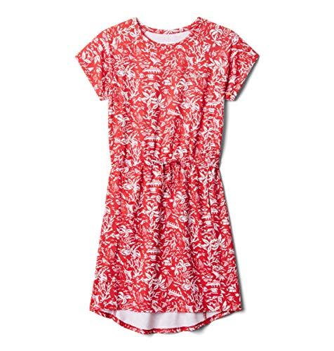 Columbia - Vestido de congelador para niña, súper refrigerante, Absorbe la Humedad, protección Solar, Rojo Spark Kona Juvenil,...