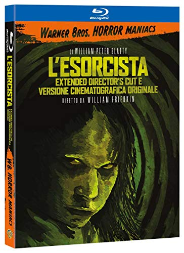 L'Esorcista, Versione Integrale - WARNER BROS. HORROR MANIACS (Blu Ray)