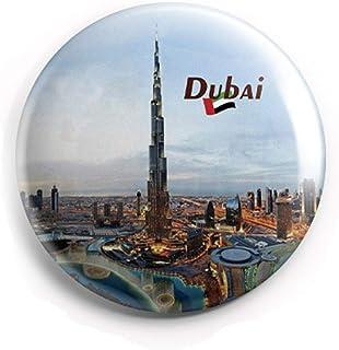 AVI 58mm Fridge Magnet Regular Size Blue Dubai UAE Middle East Travel Souvenir MR8002213 Metal