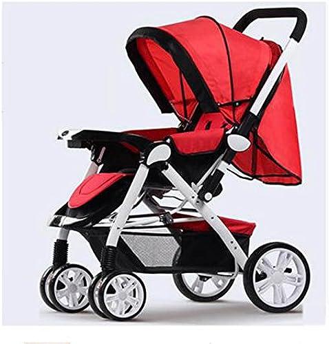 entrega rápida QWM-Las Bicicletas Infantiles para bebés Paisaje de de de la Alta bebé Trolley Ultra Ligero portátil Plegable se Puede Plegar Cuatro Cochecito de bebé Regalo para Niños  muchas concesiones