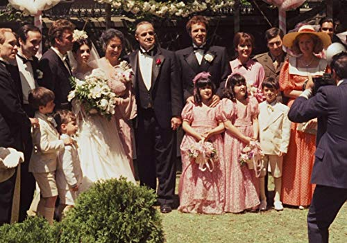 Desconocido The Godfather Movie Póster Foto Marlon Brando Parte II Art Corleone 005 (A5-A4-A3) - A3