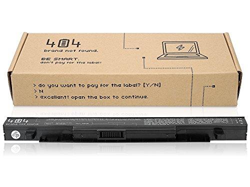 Wessper Batería del Ordenador portátil para ASUS X552C (15V, 2200 mAh)