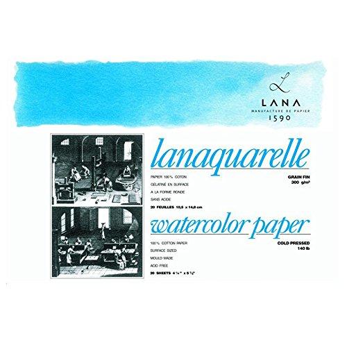 Lanaquarelle Block matt 300g/m² 26 x 36 cm - 20 Blatt