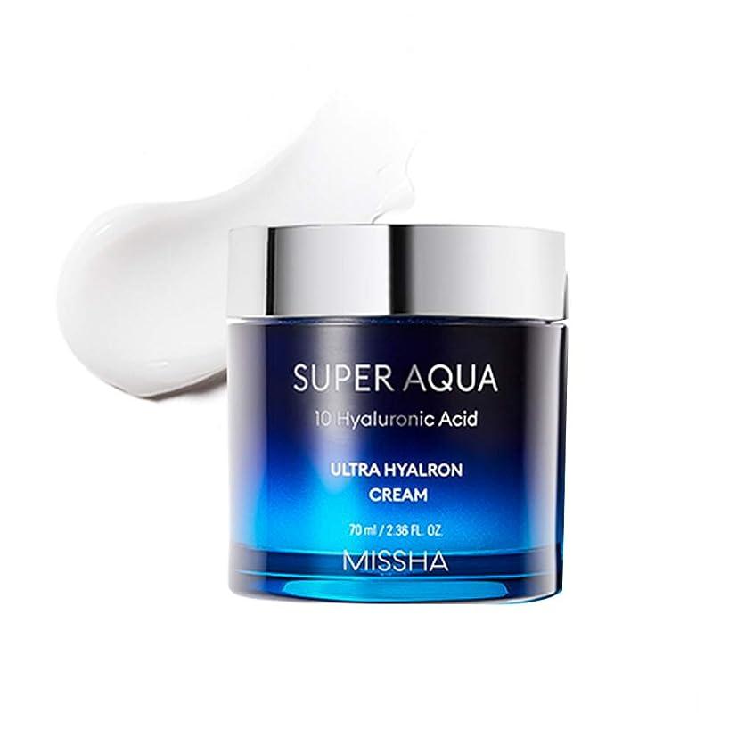 迅速バンド高める[New]ミシャスーパーアクアウルトラヒアロンクリーム Missha Super Aqua Ultra Hyalron Cream [並行輸入品]