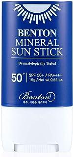 [BENTON] Mineral Sun Stick SPF 50+ PA++++ 15g - Zachte en gladde afwerking, geen witte gist, UVA-bescherming, zonnescherm,...