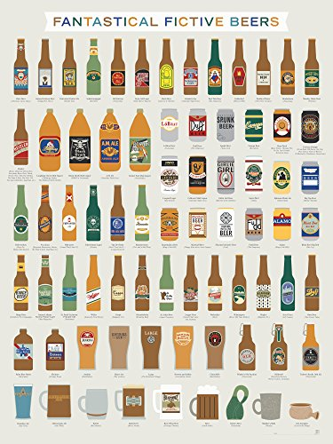 Fictional Beer Poster - Fantastical Fictive Fictional Beers ...