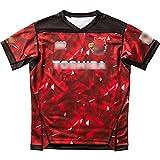 2020東芝ティンバーズホームサッカージャージ、ラグビーTシャツ通気性ゲームジャージ、速乾性メンズラグビージャージ,XL