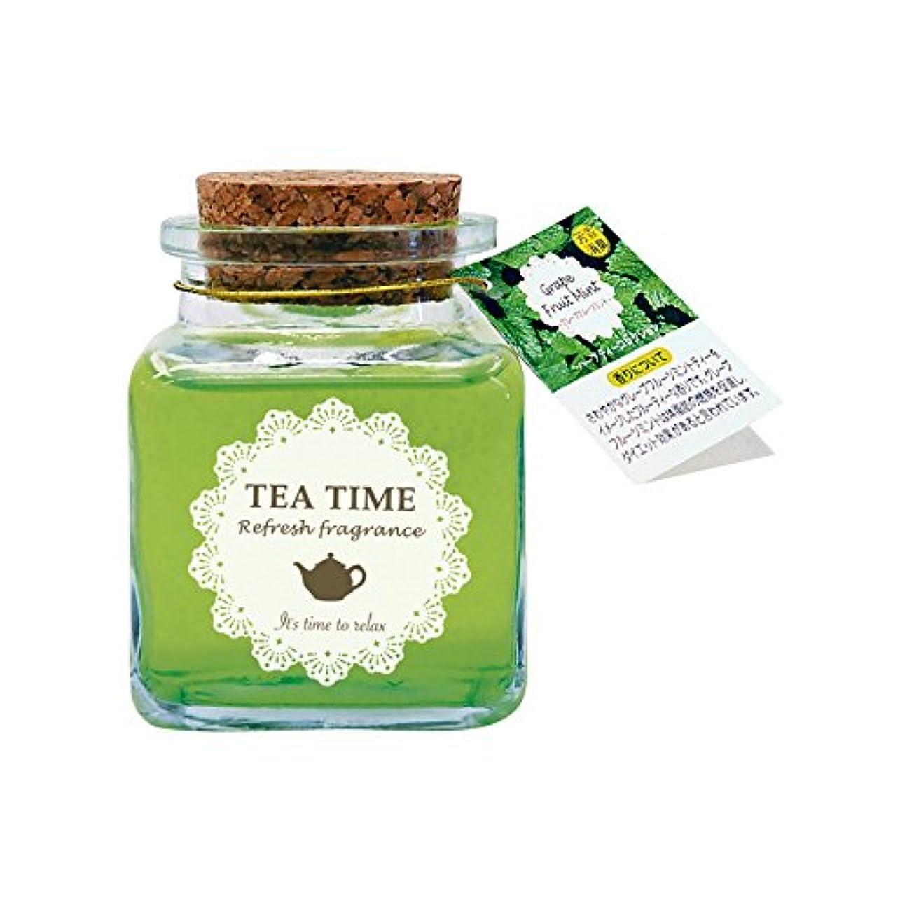 豊富静けさ練るルームフレグランス Tea Time グレープフルーツミント