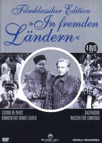 Filmklassiker Edition - In fremden Ländern - 4 DVD Box (Casino De Paris - Gasparone - Bomben auf Monte Carlo - Wasser für Canit