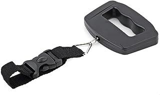 Schwarz TLfyajJ Tragbare Mini Digital Elektronische Waage Gep/äck H/ängen Gewicht Balance 50Kg 10g Silber