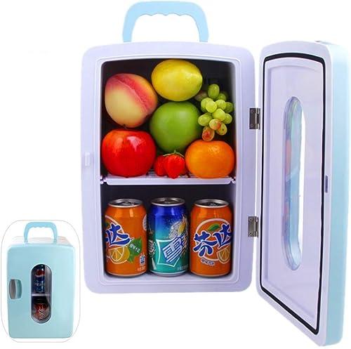 Kievy Portable Glacière électrique 12v Car réfrigérateurs Mini réfrigérateur 12L Congélateur Refroidissement jusqu'à 5 ° Chauffant jusqu'à 65 ° Utilisation de Voiture et à la Maison