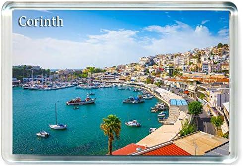 I289 Piraeus Jumbo Koelkast Magneet Griekenland Reizen Koelkast Magneet