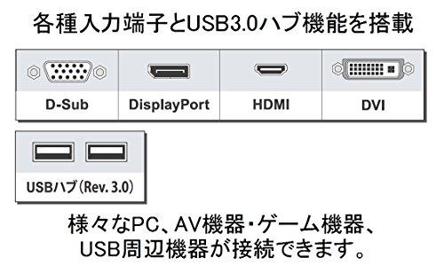 『EIZO FlexScan 24.1インチ ディスプレイ モニター (WUXGA/IPSパネル/ノングレア/ブラック/5年間保証&無輝点保証) EV2456-RBK』の4枚目の画像