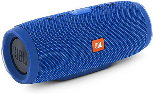 Image of JBL Charge 3 Tragbarer Bluetooth-Lautsprecher (wasserdicht, mit 6000 mAh Power Bank und Freisprechfunktion) blau