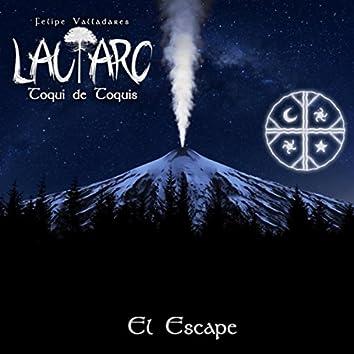 Lautaro, Toqui de Toquis - El Escape