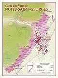 Carte des vins de Nuits-St-Georges