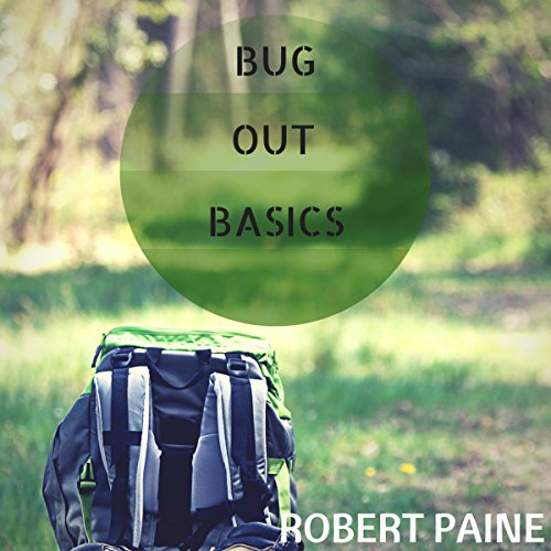 Bug out Basics audiobook cover art