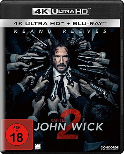 John Wick: Kapitel 2 (4K Ultra HD mit HDR + Blu-ray) (2 Disc-Version) [Blu-ray]