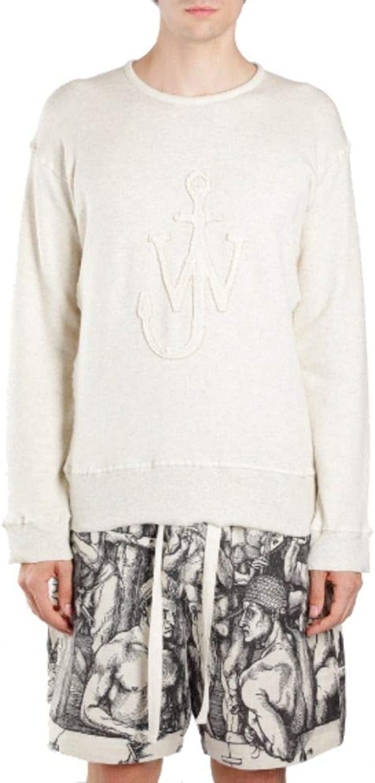 J.W. ANDERSON Men's JE05919C110 White Cotton Sweatshirt