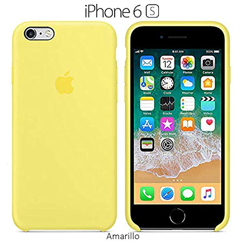 HopMore Negro Funda para iPhone 7 / iPhone 8 Silicona Antigolpes