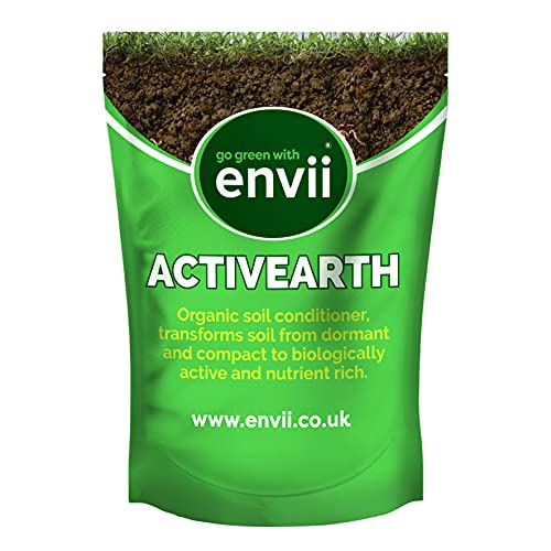 Envii Activearth - Organic Soil Conditioner Encourages Earth Worms &...