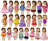 ZITA ELEMENT 6er Fashionistas Puppen Kleid Kleidung für 11,5 inch Girl doll Kelly Puppe Kleider...