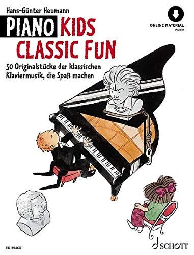 Piano Kids Classic Fun: 50 klassische Originalstücke, die Spaß machen. Klavier. Ausgabe mit Online-Audiodatei.