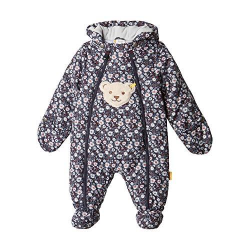 Steiff Baby-Mädchen Schneeanzug, Blau (BLACK IRIS 3032), 80
